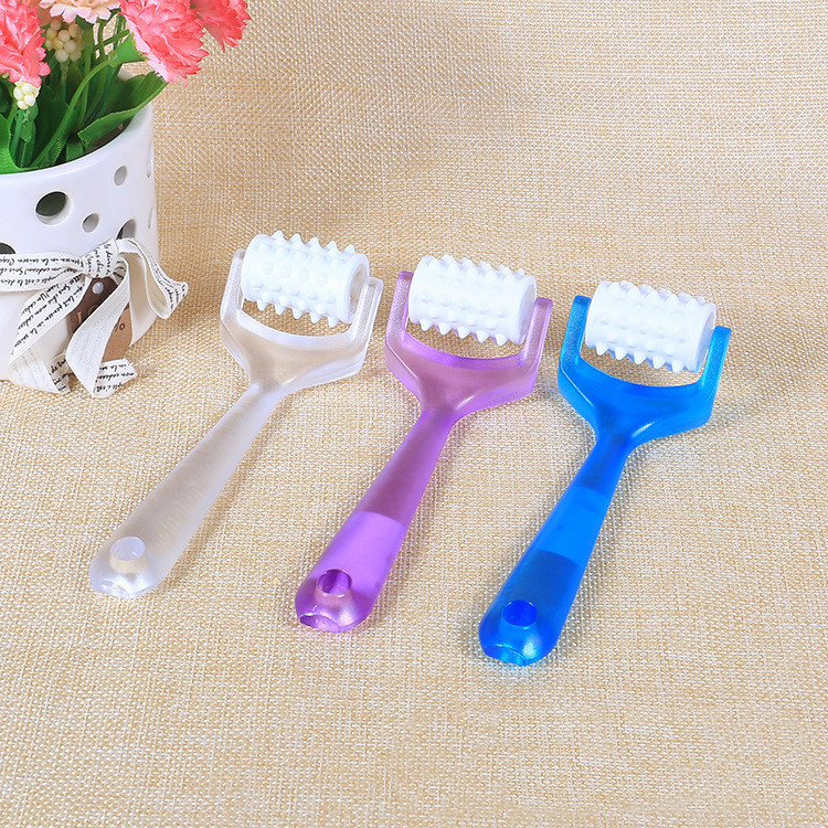 3 Colors Mini Finger Massager Bueaty Roller Face-lift Massager Face Shaper Relaxation Slimmer Tool Beauty Tools
