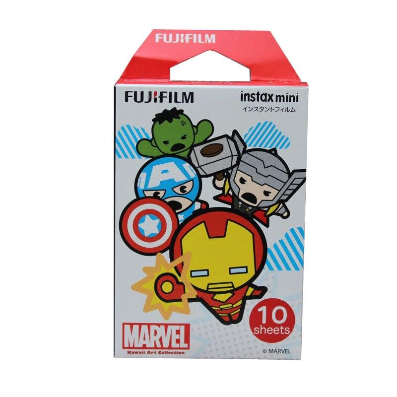 Véritable Fujifilm Instax Mini 8 mini 9 film (10 feuilles) pour Appareil Photo Instantané mini 7 s 9 25 50 s 90 Photo Papier Instax Mini