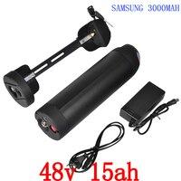 48v 15ah electric bicycle lithium ion battery 48v 15ah bottle e bike li ion battery with controller box 48v bafang battery