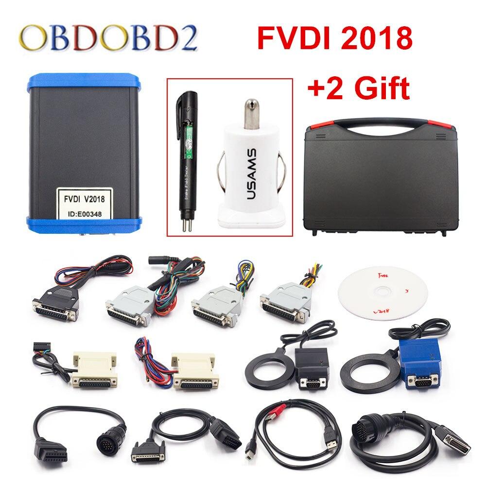 Mais novo FVDI 2018 Cobrir Todas As Funções de VVDI2 V2016 V2015 V2014 FVDI Fvdi Abrites Comandante Atualização Versão Completa Sem Limitado online