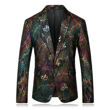 Colorful Blazers For Men Suits Blazers Luxury Blazer Masculino Slim Fit Stage Wedding Party Prom Suit Jackets Blazer Hombre 4xl