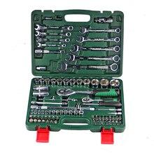 Набор ключей для ремонта автомобиля храповым механизмом набор Универсальный головкой Комбинации крутящий момент гаечный ключ для шестеренок Коллекция набор ручного инструмента