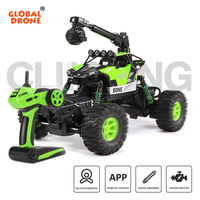 Global Drone RC Car 2.4GHz climbing antigravity car radio controlled cars Off Road Vehicle Christmas Gift VS wpl Carro