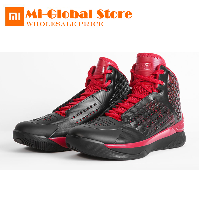 все цены на Original XiaoMi HYBER Classic basketball shoes Light and breathable Non-slip Cushioning shoes professional high quality онлайн
