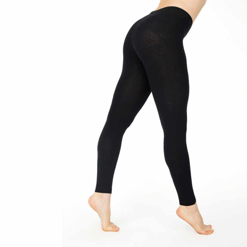 3a0b29e59c ... Elastic High Waist Women Full Length Skinny Pencil Pants Cotton Solid Fitness  Leggings Trousers Female Plus ...