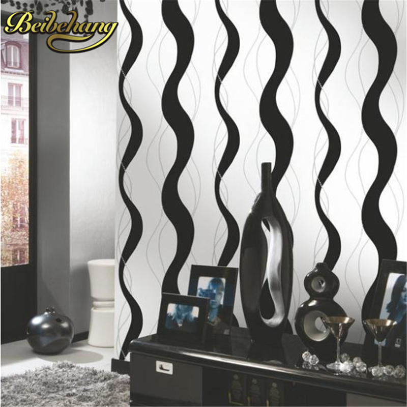 beibehang stripe vinyl wallpaper roll papel de parede 3d modern pvc wallpaper for living room black white wall paper for walls beibehang blue retro nostalgia wallpaper for walls 3d modern wallpaper living room papel de parede 3d wall paper for bedroom