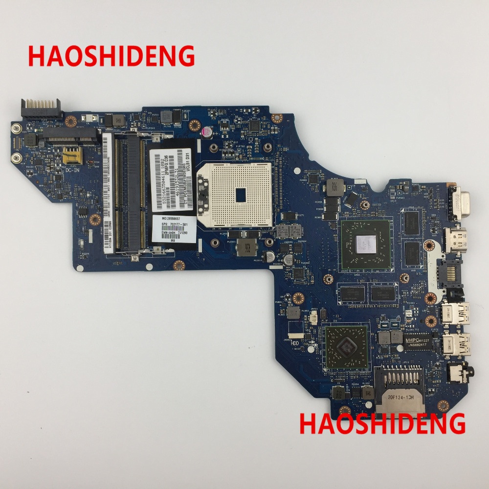 Free Shipping 702177-501 QCL51 LA-8712P for HP ENVY M6 M6-1000 series motherboard HD7670M/2G.All functions 100% fully Tested ! free shipping 720566 501 for hp envy 15 j 15t j motherboard 740m 2g hm87 all functions 100% fully tested
