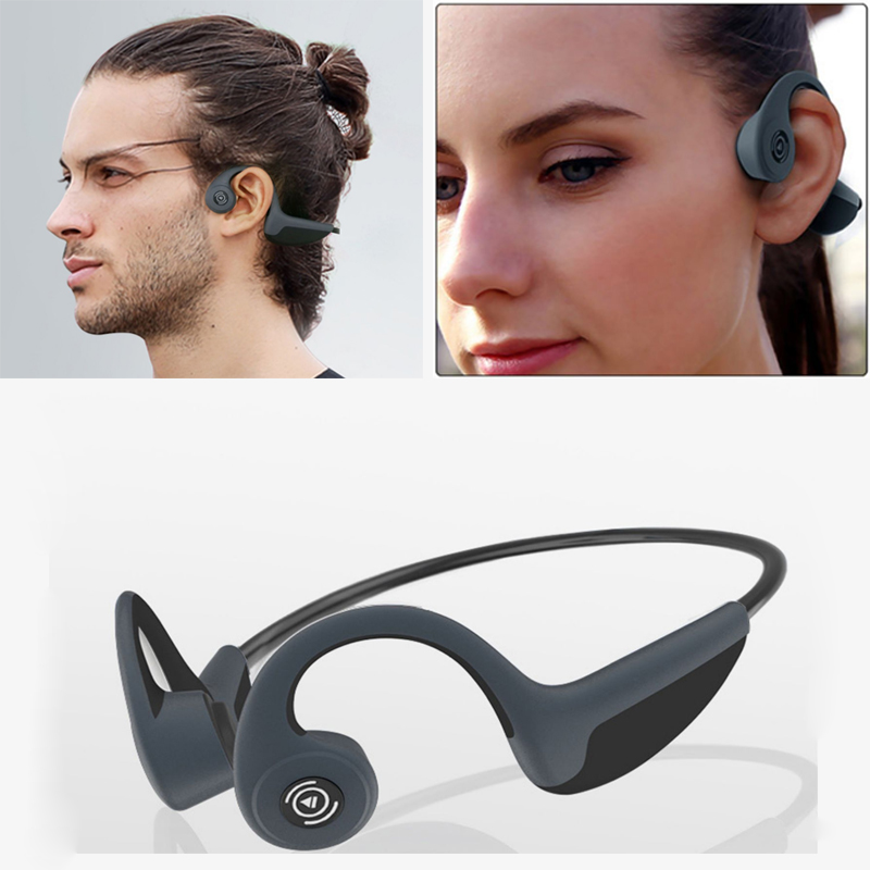 Z8 Wireless Headphones Outdoor Sport Headset Bone Conduction Earphone with Microphone Bluetooth 5 0 Handsfree Headsets