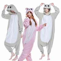 The New Adult Cartoon Pajamas Pink Mouse Beautiful Costumes In Kind Shooting