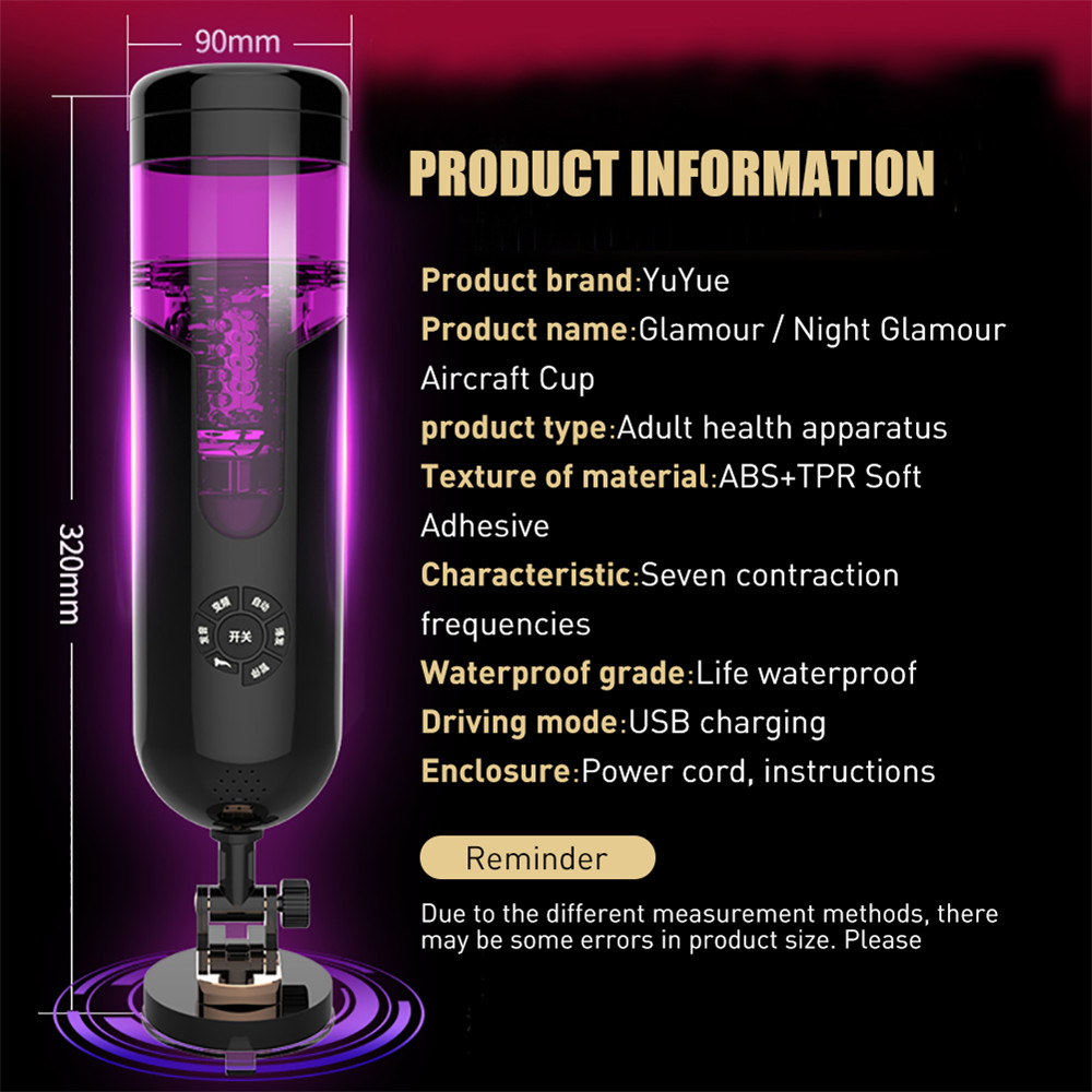 Automatic Sex Machine Voice Hand Free Electric Male Masturbation Blowjob Realistic Vagina Cup Pussy Vibrator for Man Sex Toys 5