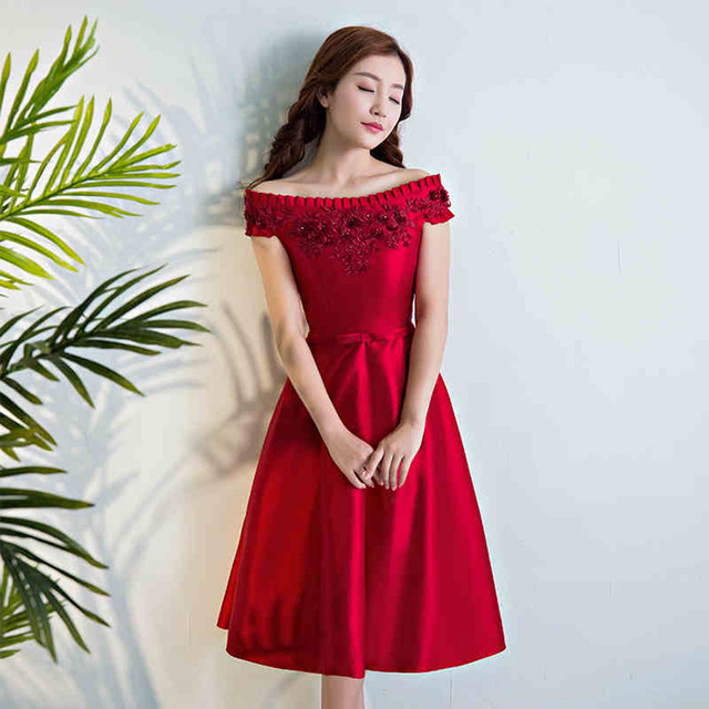 Robe rouge aliexpress