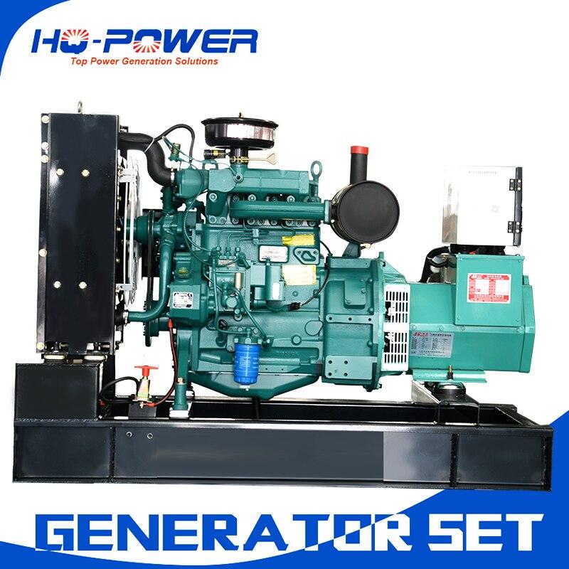 20kw Малый синхронный генератор переменного тока Трехфазная система weichai дизель поколения