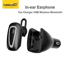 Caldecott BT-07 автомобиля Зарядное устройство USB Беспроводной Bluetooth наушники-вкладыши для мобильного телефона