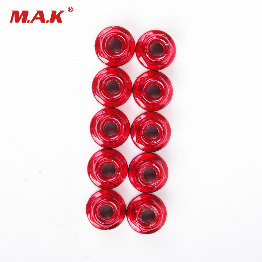 CNC Rim Lock Cover Nut Washer Security Bolt For KTM Honda Yamaha Kawasaki Suzuki