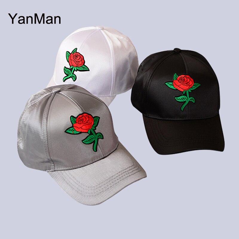 Yanman 2017 Nouvelles Femmes Casquette De Baseball Mode Rouge Rose
