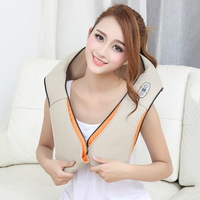 U Shape Electrical Shiatsu Back Neck Shoulder Waist Massager Body Massager Infrared 3D Kneading Massager