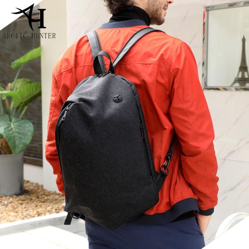 ARCTIC HUNTER Fashion Casual laptop backpack USB Charge shoulder backpack Bag for men School backpack B00195 arctic hunter 2017 chest bag for men usb