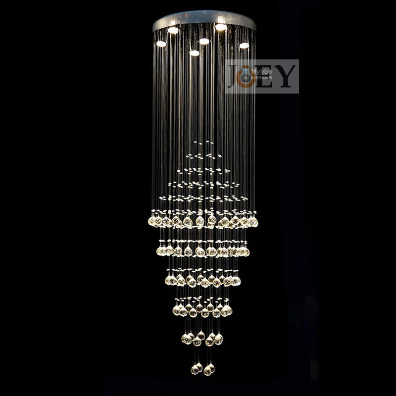 Modern crystal pendant Italy simply lamp Entry Foyer Lights and diningroom Luxury Hotel rooms lighting Guaranteed 100% 9065-600