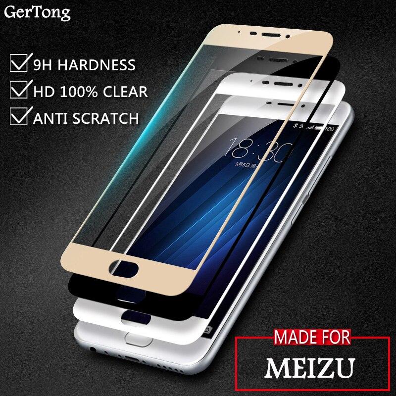 Full Ultra Tempered Glass For Meizu M3 M5 Note M3X M6 S M3E U10 U20 MX6 Pro 6 7 Plus M5s M3s Mini Screen Protector Guard Film