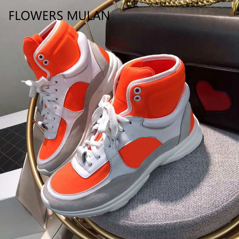 famous brand Popular Luxury Woman Shoes real leather comfort Woman s Shoes For Adult Breathable Lace Up casual shoes