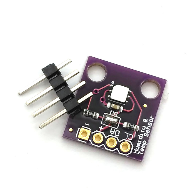 Si7021 endüstriyel yüksek hassasiyetli nem sensörü ile I2C arayüzü