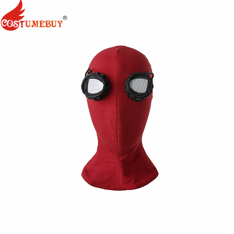 Costumebuy Spider-Man Homecoming Spiderman Mask Cosplay Hood Masks Full Head Halloween Masks Props Costume