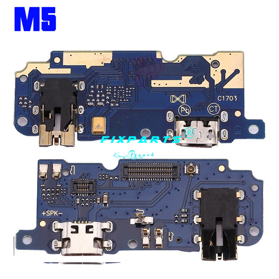 Meizu M1 M2 M3 M5 M6 Note U10 M3S Dock Port USB Charging Dock Charger Connector Plug Board Flex Cable Replacement Repair Parts (12)
