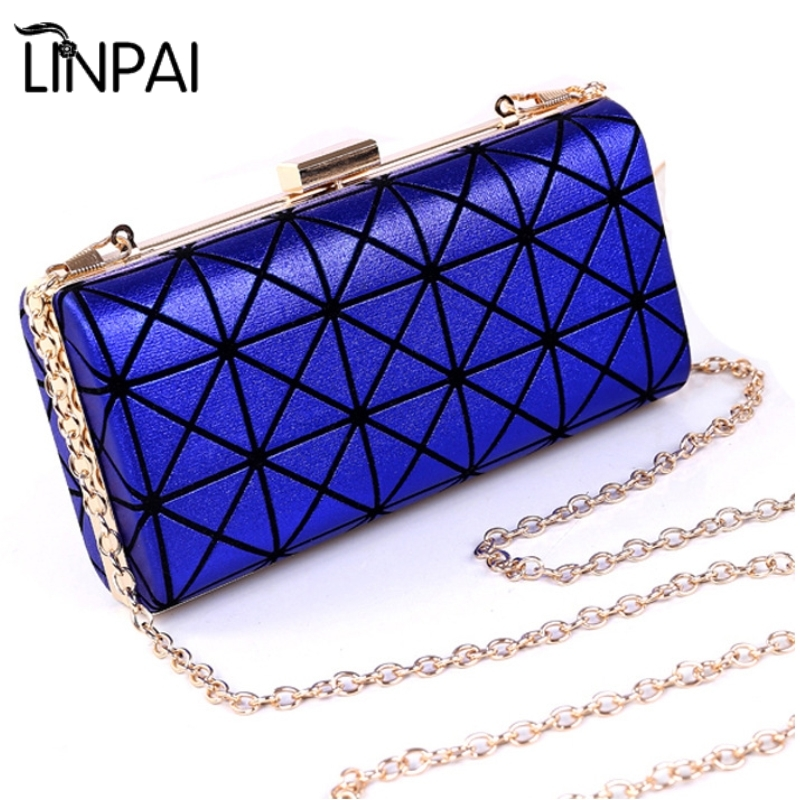 Designer Evening Bag Clutch Handbag Fashion Women Bag Hard Case For Party Kadinlar El Cantasi Dinner Bag Chain Shoulder bag