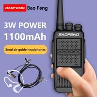 baofeng bf 2pcs Baofeng BF-868plus Talkie Walkie UHF 2 דרך הרדיו BF-898 5W UHF 400-470MHz 16CH במקלט נייד עם אייר אפרכסת (3)
