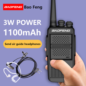 Image 3 - 2PCS BAOFENG BF 868plus Walkie talkie Uhf 2 way radio BF 898 5W UHF 400 470MHz 16CH Portable Transceiver with Air Earpiece