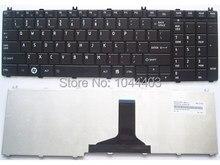 Eua preto teclado para toshiba Satellite L655D-S5110 L655D-S5110BN L655D-S5104 L655D-S5109 L655D-S5110RD L655D-S5110WH laptop