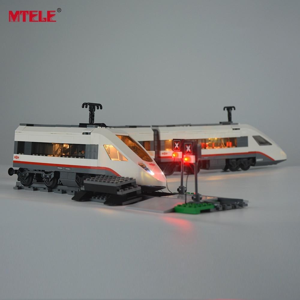 MTELE Brand New Arrival Led Light Kit Untuk Kereta Model Penumpang - Mainan bangunan dan konstruksi - Foto 4
