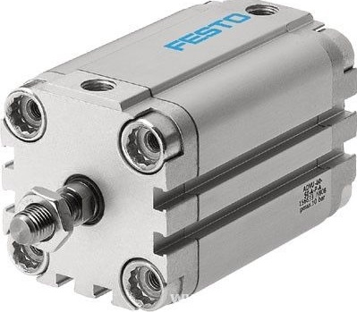 New original  FESTO  Cylinder  ADVU16-5-P-A new authentic german festo cylinder dfm 12 20 p a kf 170900