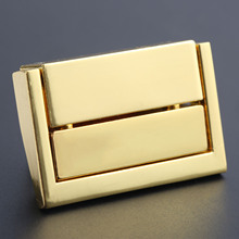 1Pc Toggle Latch Clasp Antique Alloy Box Buckle Square Vintage Wooden Wine Locked Buckles 38x24mm