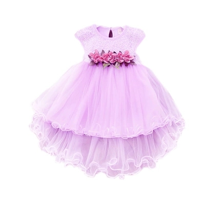 2018 Baby Girls Summer Floral Dress Princess Party Tulle Flower Dresses Mesh Girls Clothes Girls Ball Gown Toddler Girl Clothing 2017 summer girls dresses toddler baby girl ruffle floral sleeveless dress sundress briefs bottom 2pcs set flower girls dresses