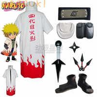 Kostenloser Versand! Lager! Naruto Namikaze Minato Cosplay Kostüm Anzüge, Perfekte Kunden Für sie!