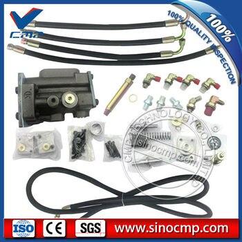 EX100-3 Conversie Kit Hydraulische Pomp Regulator Onderdelen Voor Hitachi Graafmachine Met Engels Installatie-instructies