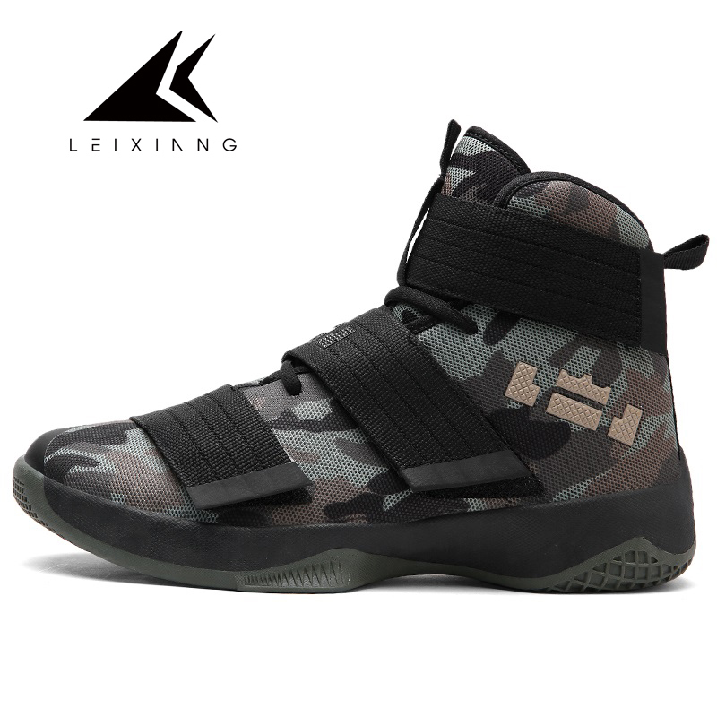2018 Basketball font b Shoes b font For Men Zapatos Hombre Ultra Green Boost Camouflage Basket