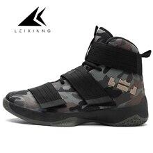Nueva Alta superior Zapatillas de baloncesto Zapatos hombre ultra verde Boost camuflaje Basket Homme hombres y mujeres estrella sneakers Ball super