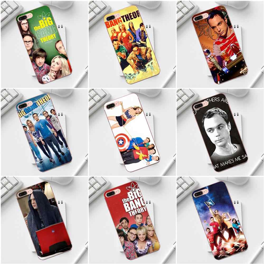 Qdowpz The Big Bang Theory Sheldon Lee Cooper Cho iPhone 4 4 s 5 5C SE 6 6 s 7 8 cộng với XS X Max XR Galaxy A3 A5 J1 J3 J5 J7 2017