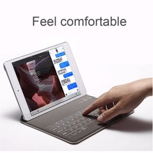 9.7 Tablet Case Bluetooth 3.0 Keyboard Wireless For iPad AIR/AIR2 Protective Sleeve Cover Universal