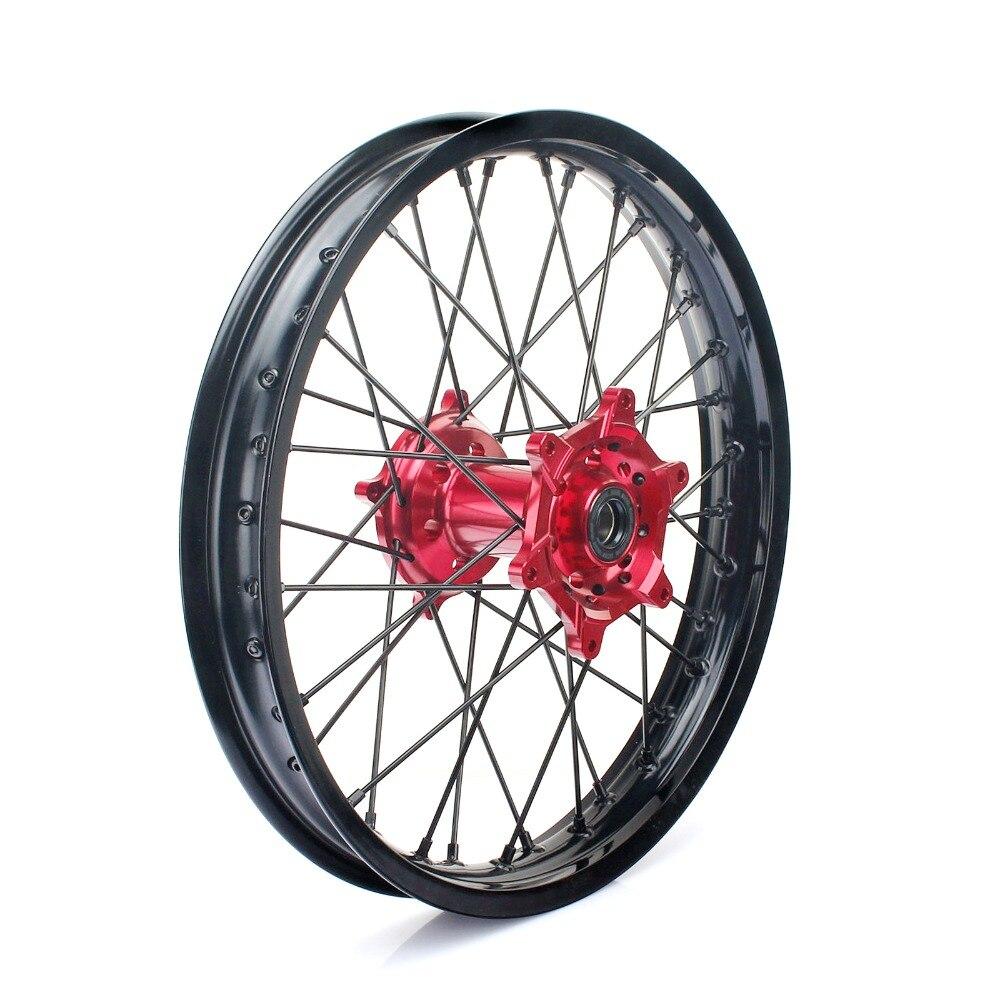 19 MX Motocross Supermoto Rear Wheel Rim Hub for HONDA CRF 250 450 R CRF250R 2014 2017 CRF450R 2013 2016 2015 CNC Billet New