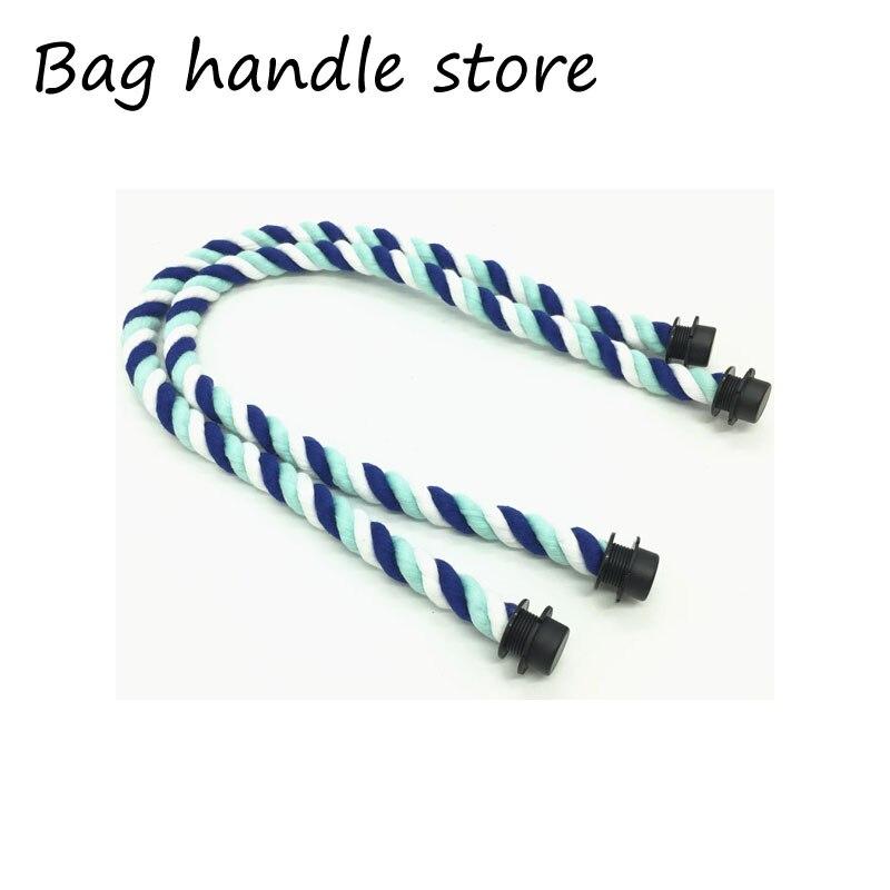 Aliexpress <font><b>china</b></font> 1 pair 65 70 cm 50 cm 1 Pair Long short Handle for O Bag Accessories Obag Handbags Women