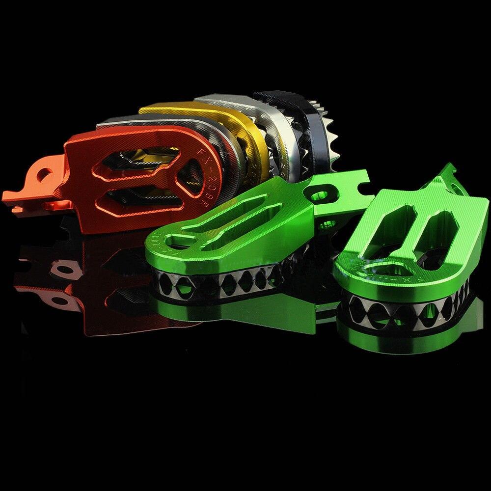 Motocross CNC Aluminum Off-road Foot Pegs For Suzuki RM-Z250 RM-Z 250 2005 2006 RM250 2006 2007 2008
