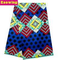 2017 African fashion Tradition African Style Hitarget Wax Prints Veritable Real Nigerian Wax block print Fabric For Cloth&dress