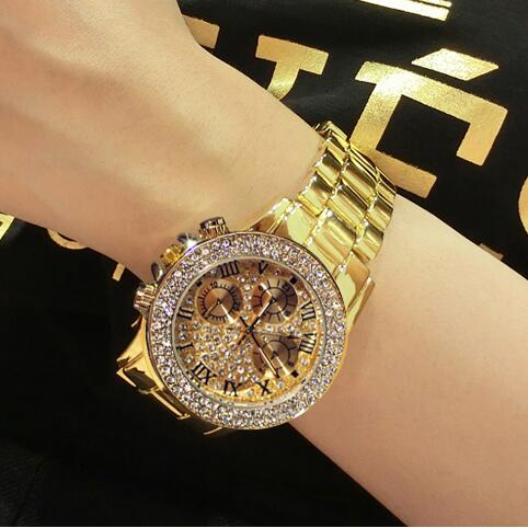 60aa0daa04dc4 Mouse over to zoom in. Hot Sales Women Watch High Quality Women Rhinestone  Watches ...