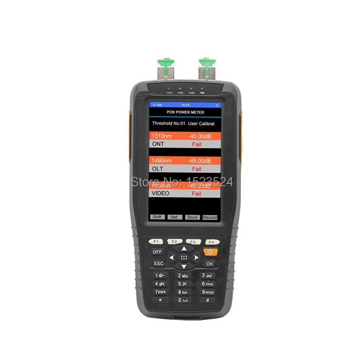 TM70B Handheld PON Fiber Optical Power Meter 1310/1490/1550nmTM70B Handheld PON Fiber Optical Power Meter 1310/1490/1550nm