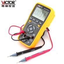 1 шт. ВИКТОР VC70C 6000 Сенсорная Клавиша Auto Range 10А Сопротивление Емкость Частота Температура Цифровой Мультиметр