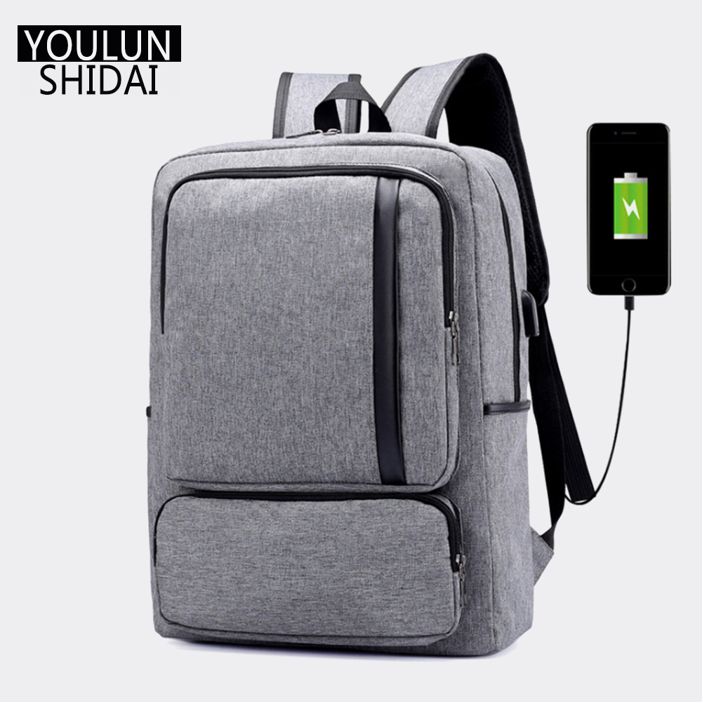 Youlunshidai Multifunction Anti-theft 16inch Laptop USB Charging Backpack Bag For Teenager Men And Wome Fashion Travel Backpack