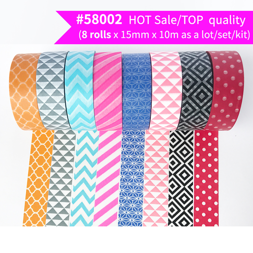 Free Shipping and Coupon washi tape,Washi tape,basic design,Optional collocation,on sale,#6757-6781